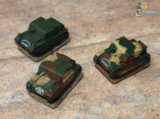 Sadurní catalan tanks